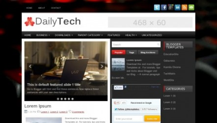 DailyTech Blogger Template