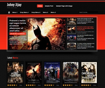 Johny Jijay Blogger Template