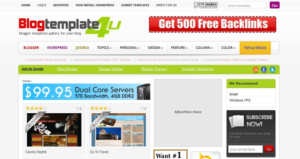 Abtemplates free wordpress and blogger templates for 2017 wajeb Images