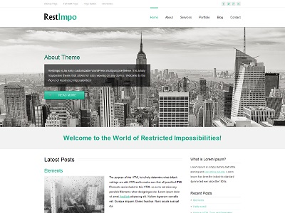 RestImpo Multipurpose WordPress Theme