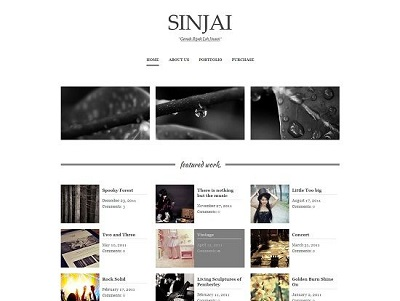 Sinjai Multipurpose Blogger Template small