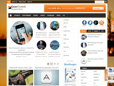 GearCrowd Gallery Blogger Template small