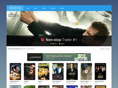 Movieism Entertainment Blogger Template small