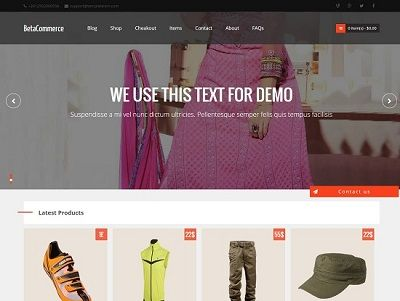 BetaCommerce eCommerce Blogger Template small