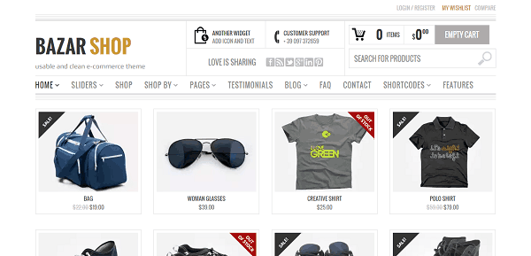 Bazar Shop WooCommerce Theme