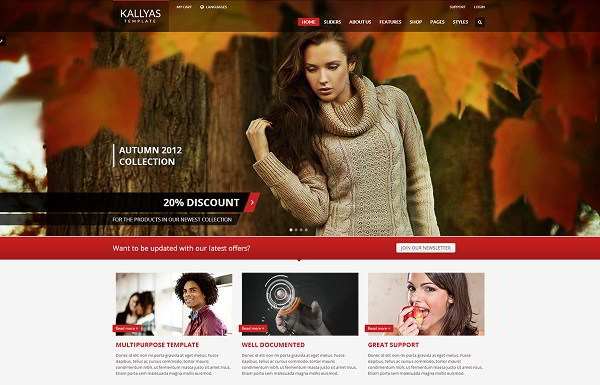 Kallyas Woocommerce WordPress theme