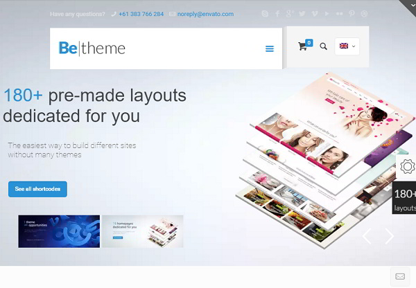 BeTheme Multi-Purpose WordPress Theme