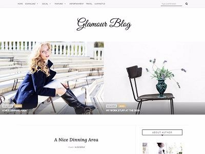 Glamour-Fashion-Blogger-Template-small
