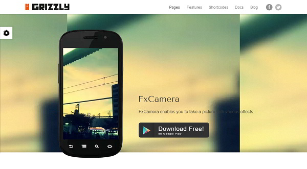 GRIZZLY App Related WordPress Theme