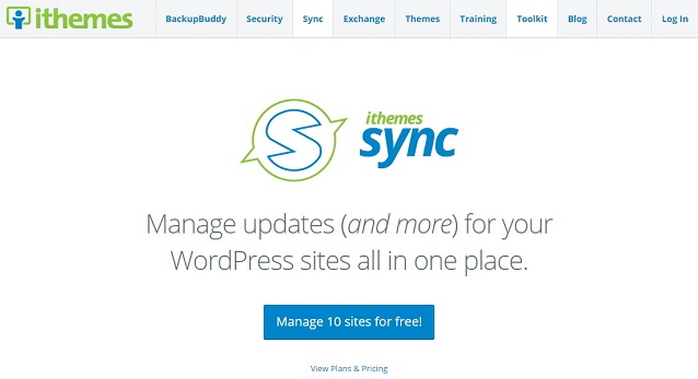 Manage Multiple WordPress Sites with iThemes Sync